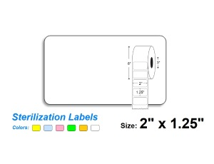 2″ x 1.25″ SteriTrack Labels