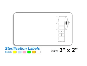 3″ x 2″ SteriTrack Labels