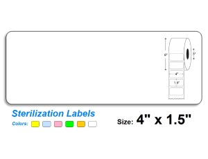 4″ x 1.5″ SteriTrack Labels