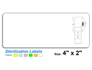 4″ x 2″ SteriTrack Labels